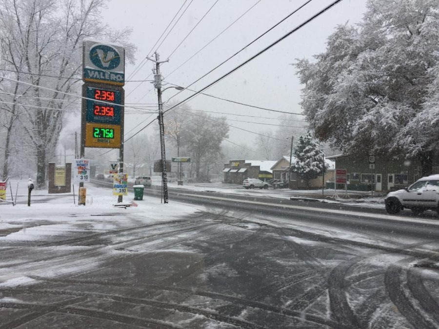 Courtesy of Thomson200. Many strange weather changes have occurred with global warming, like the sudden snowfall in Florida.