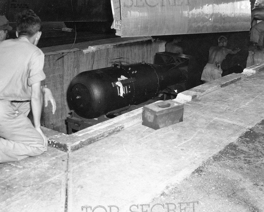 Little Boy was the first nuclear weapon ever detonated. It was used on Japan in August of 1945.
