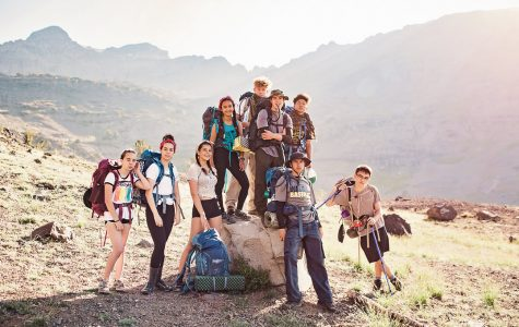 The MBR Program hiked by Blue Canyon Lake, among other places during their summer program.