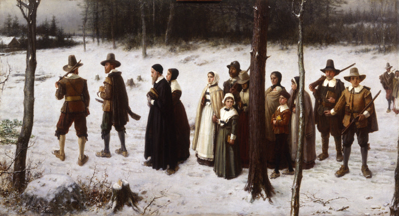 The very first Pilgrims.