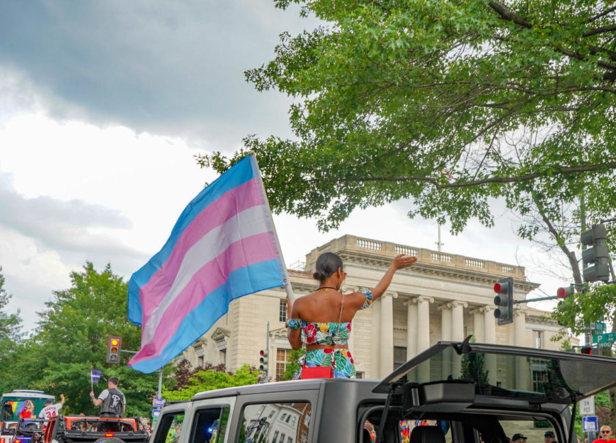 A large pride parade took place in Washington in June 2018, championing acceptance of all members of the LGBTQ+ community.
